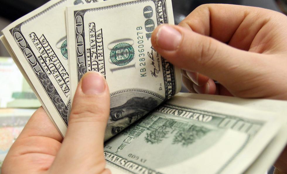 Cash in hand.