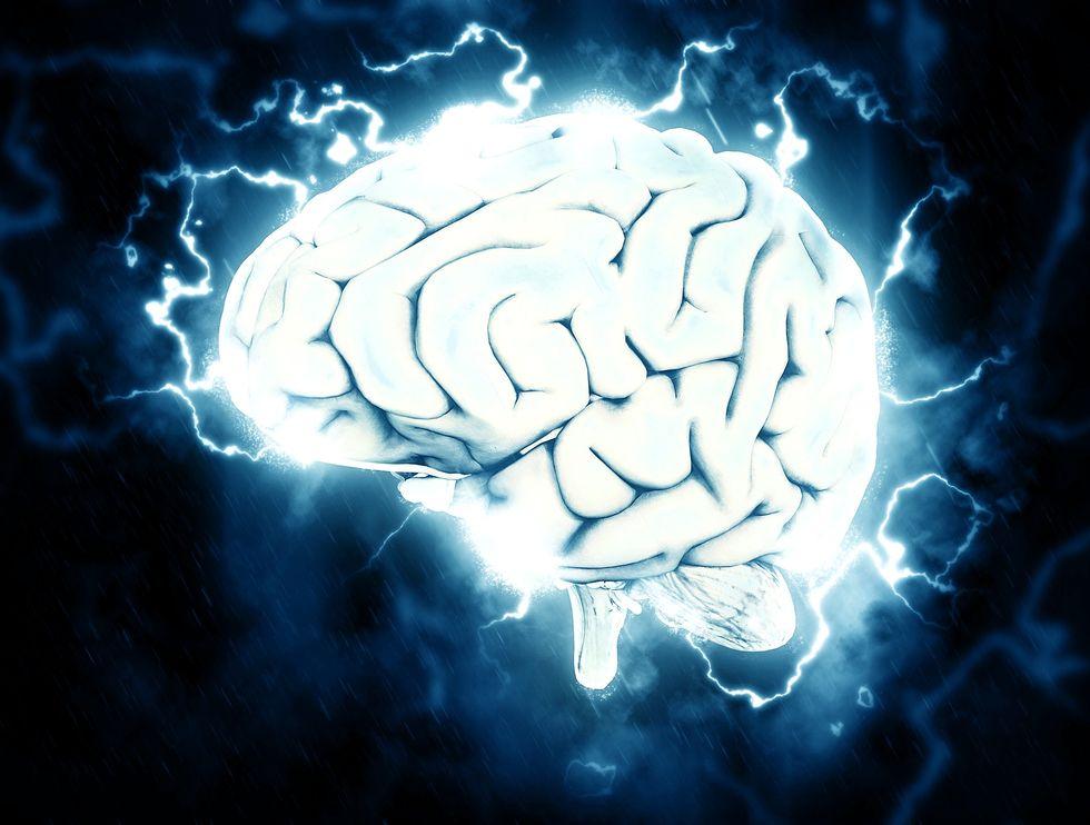 Brain power.