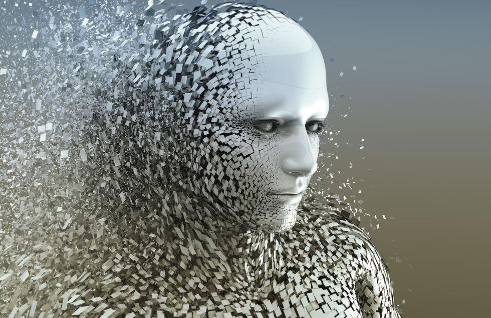 A digital humanoid.