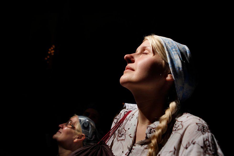 Two orthodox women.