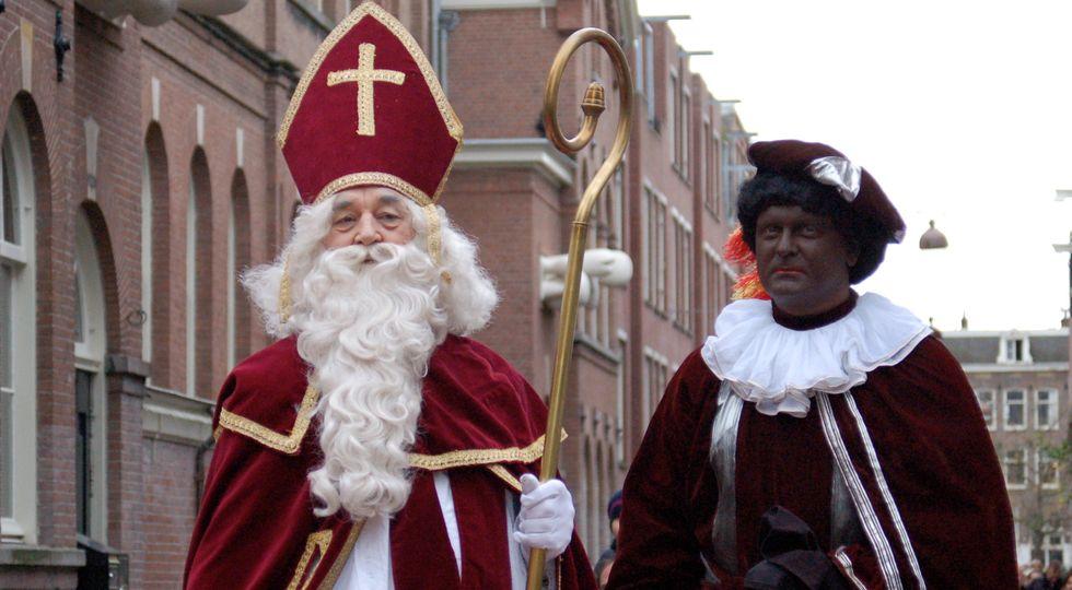 This Sinterklaas Season Too, Black Pete Stays (Mainly) Black