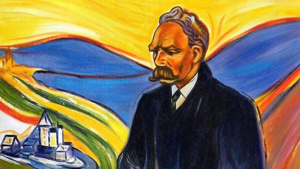 Nietzsche, by Munch