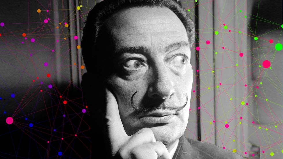 Salvador Dali had a pretty unique method for capturing creative dreams.