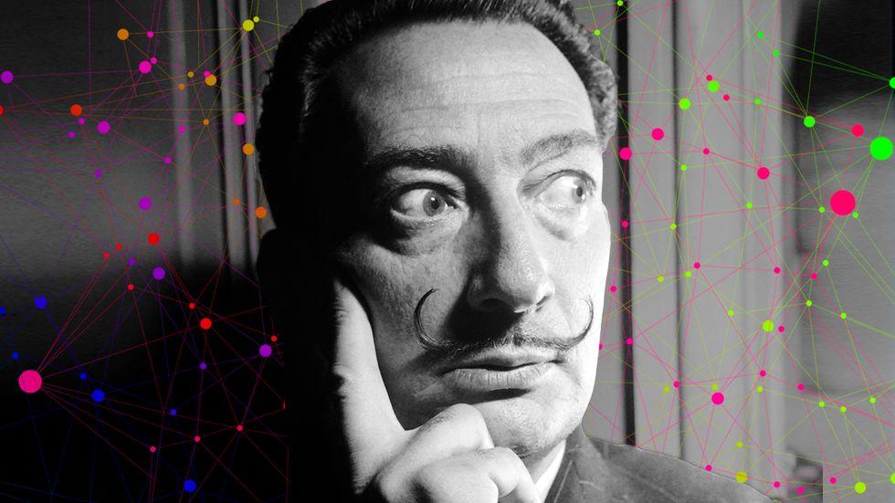 Salvador Dali had a pretty unique method for capturing creative dreams.