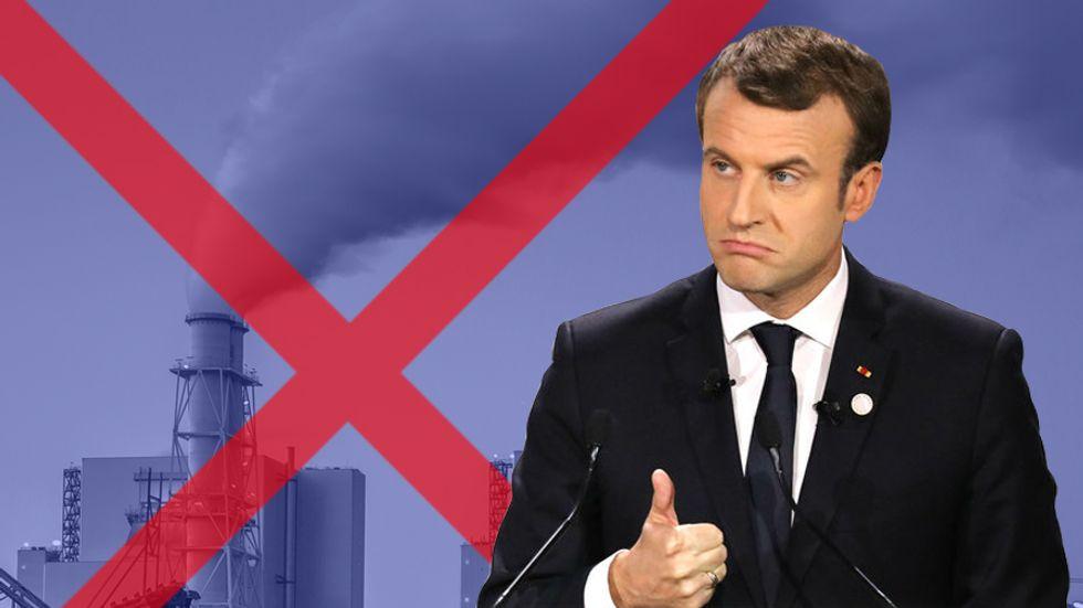 French President Emmanuel Macron — Photo: Ludovic Martin/Getty