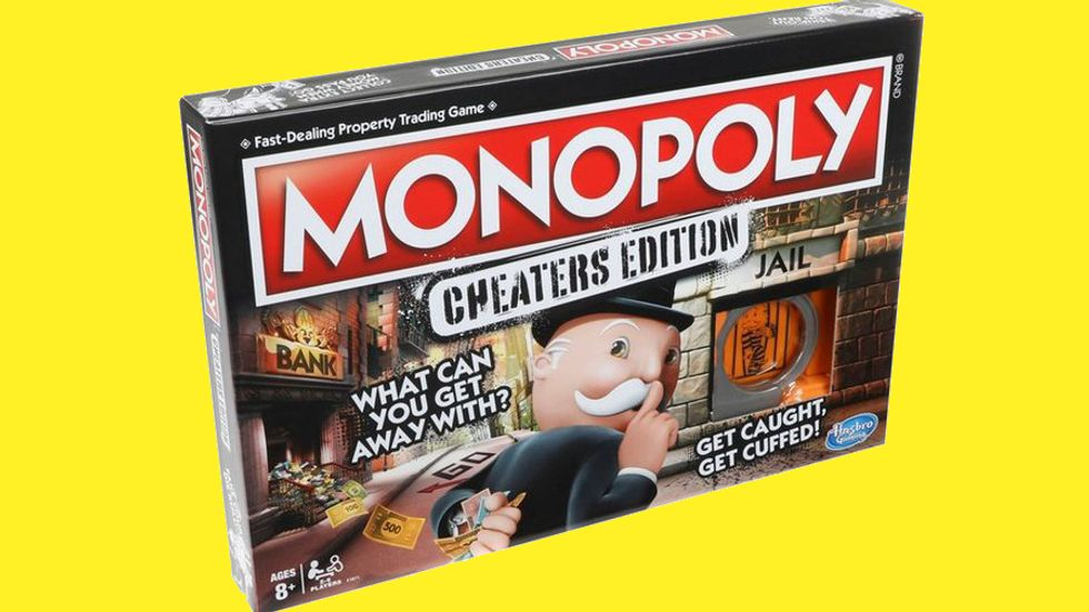 Cheaters Edition Monopoly by Hasbro