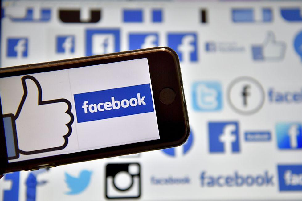 "A ""Like"" on Facebook."