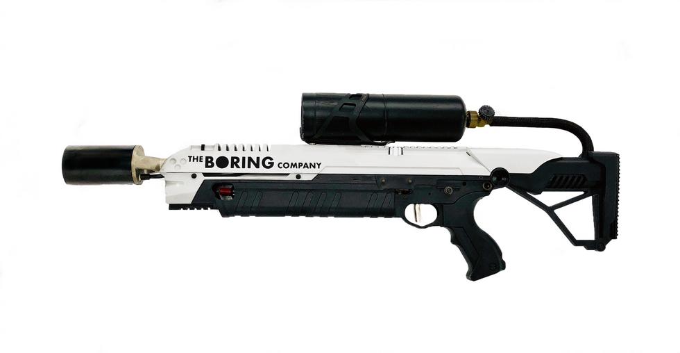Elon musk's $500 flamethrower