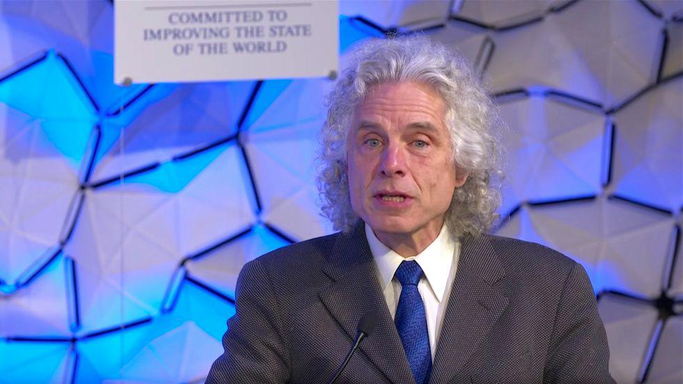 Steven Pinker at Davos: excessive political correctness feeds radical ideas