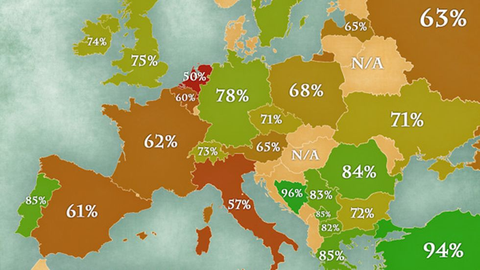 Revealed: Dutch are least hygienic Europeans