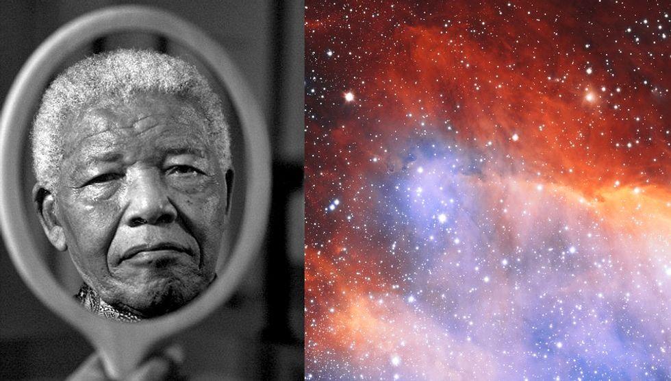 Nelson Mandela in 2011. Credit: Associated Press. Photo by Adrian Steirn.