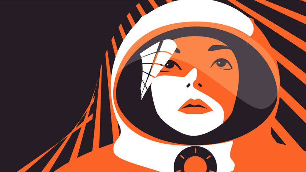 In 1963, Valentina Tereshkova became the first woman sent to space. (Image: RS Components)