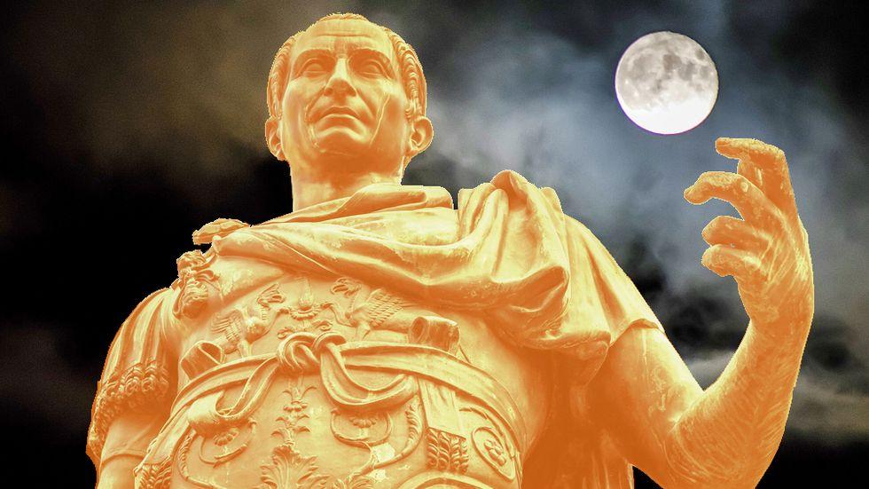 Julius Caesar on the Ides of March.
