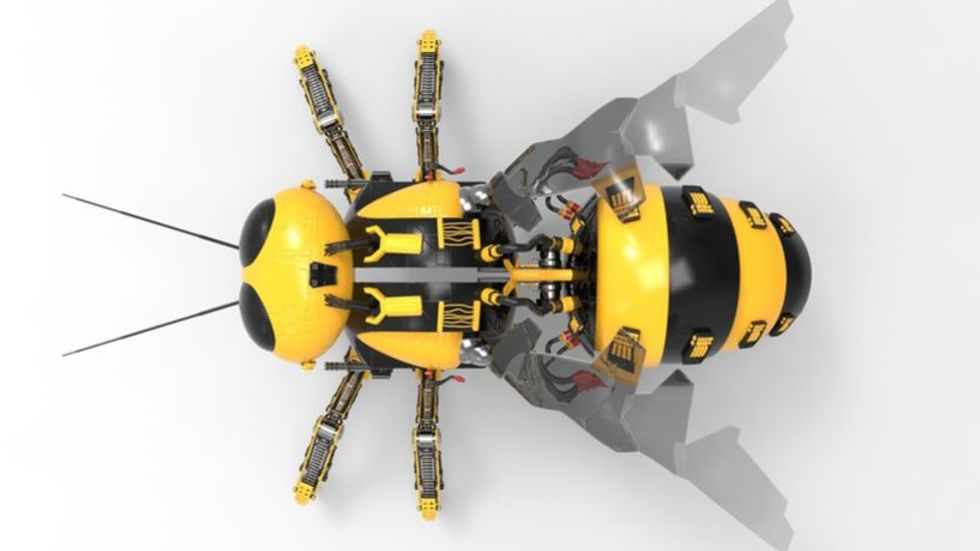 Robot bee. Image: Shutterstock.