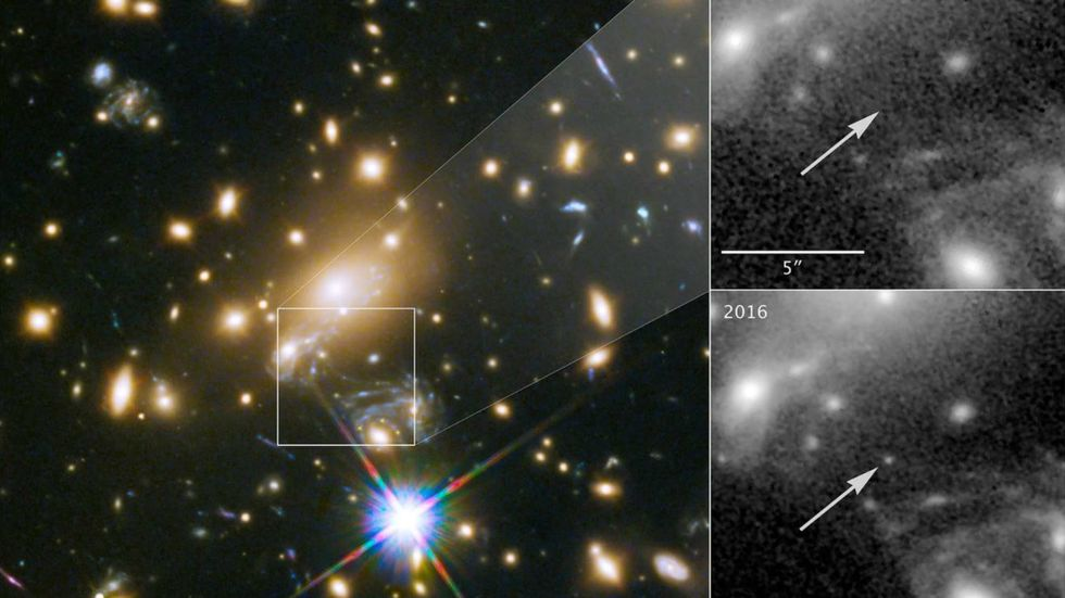 The most distant star ever observed. (Photo: NASA)