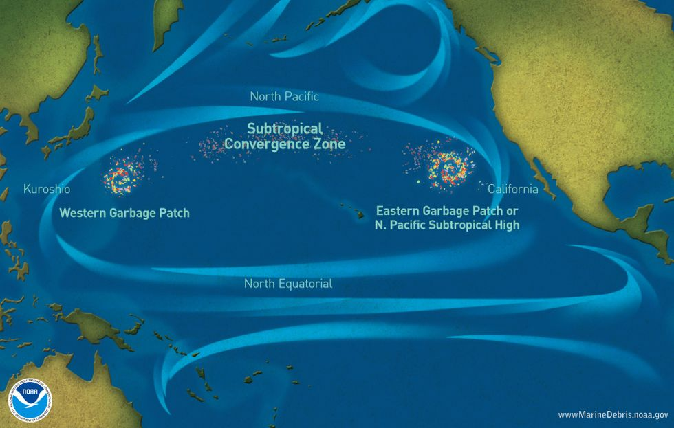 'Plastic island' in Pacific now twice the size of Texas