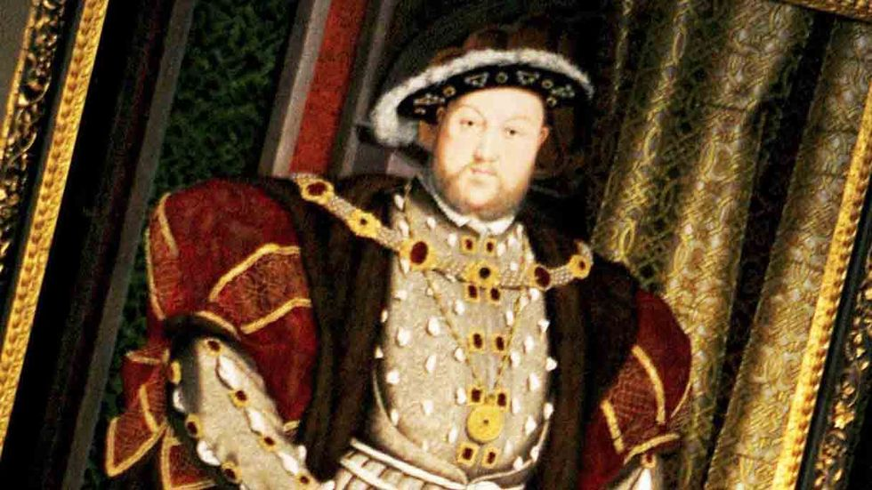Henry VIII  (Photo by Daniel Berehulak/Getty Images)