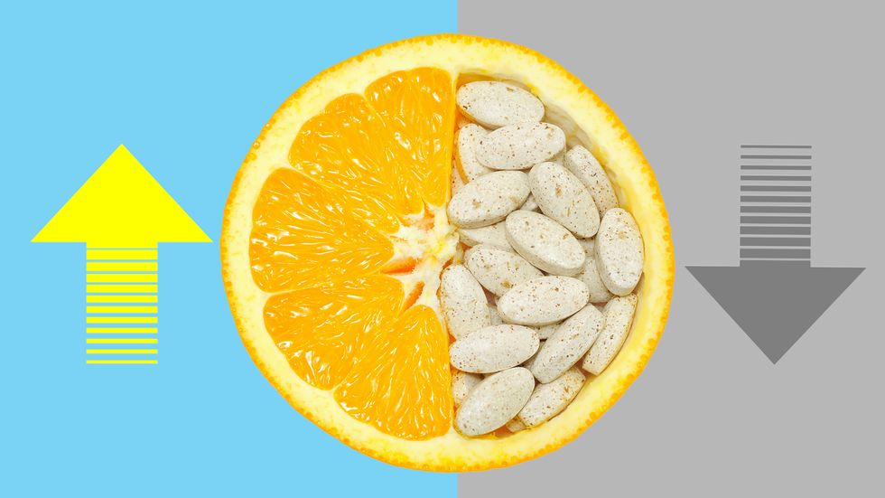 Do vitamins work? (Photo by Saeed Khan/AFP/Getty Images)