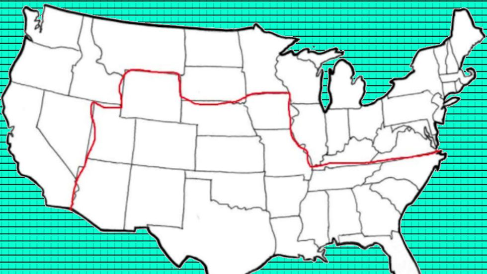 Jesse Kelly's map posits a left-wing PRS in the north and a right-wing FSA in the south.