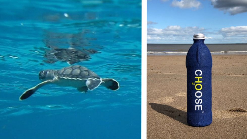 New water bottle dissolves in three weeks! (Photo: National Park Service)