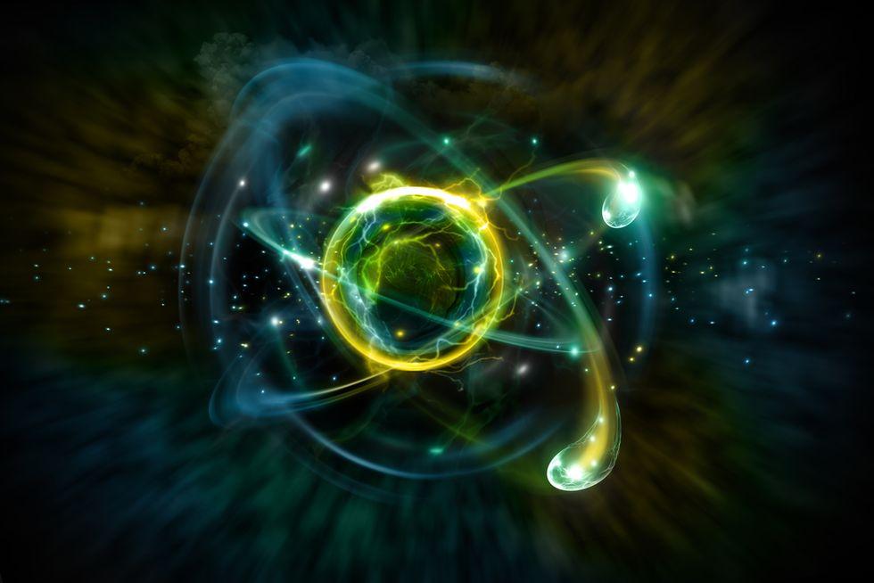 A proton.