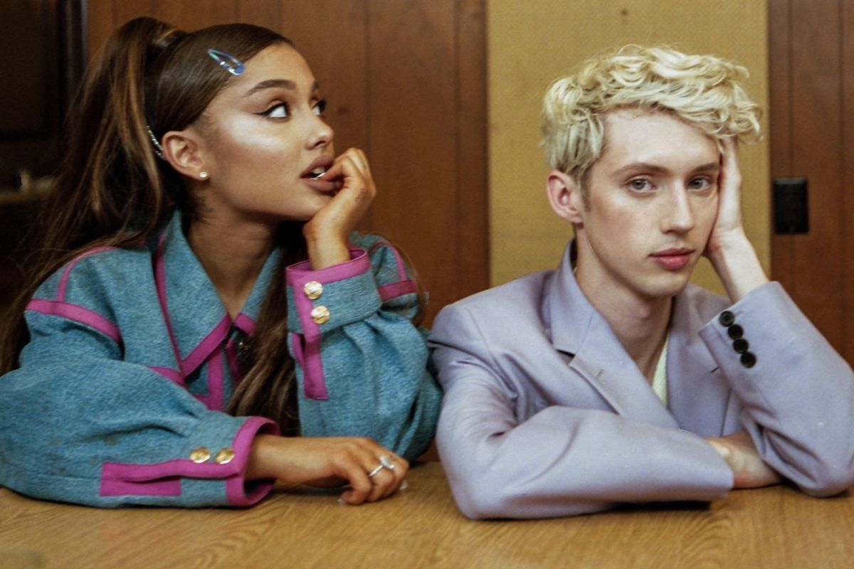 In Conversation: Troye Sivan and Ariana Grande