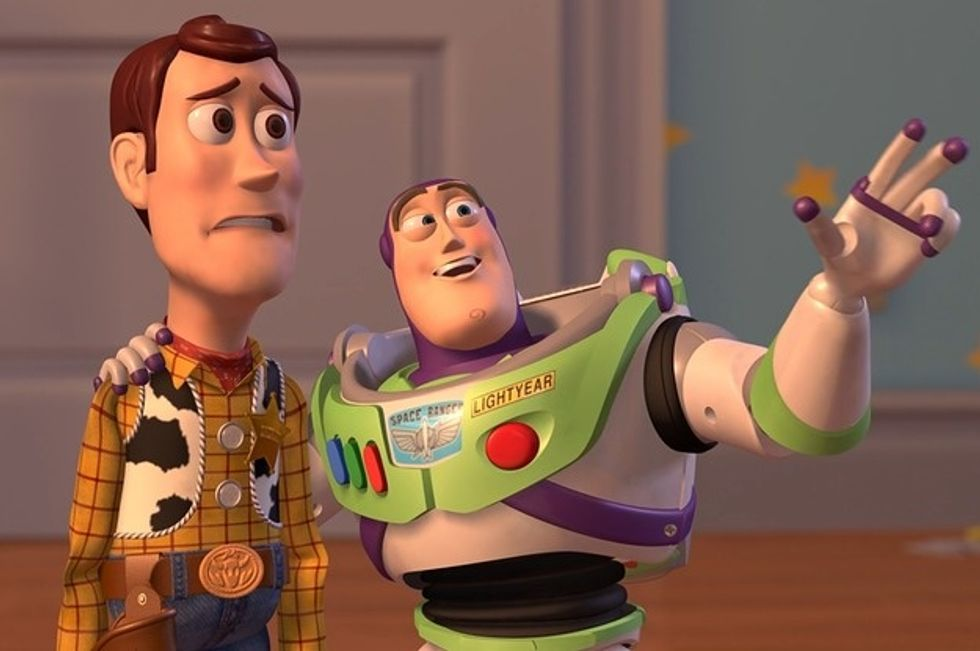 20 Times 'Toy Story' Perfectly Described Your Animated College Life