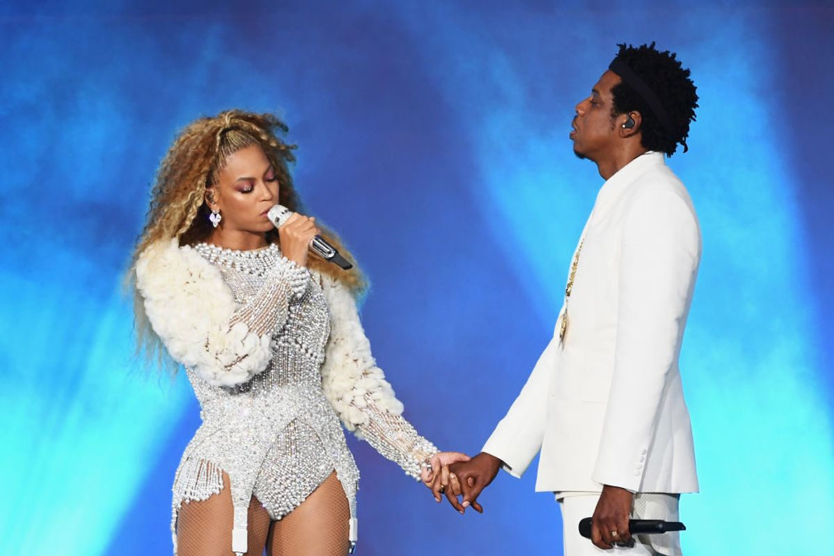 Beyoncé and Jay-Z Get Chased by Stage Crasher in Atlanta