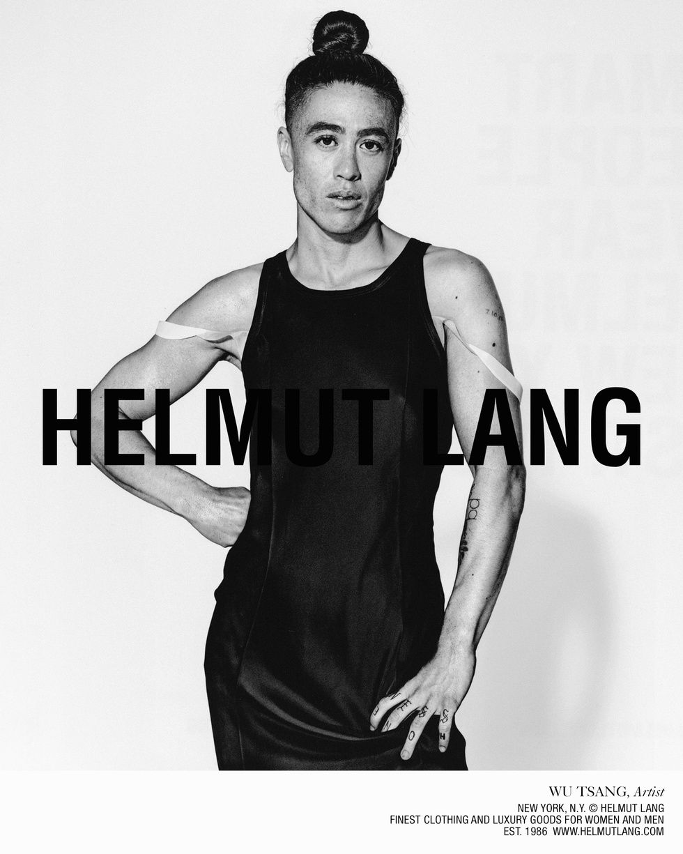e01a1022c631 The Intelligentsia Takes Over Helmut Lang s New Campaign - PAPER