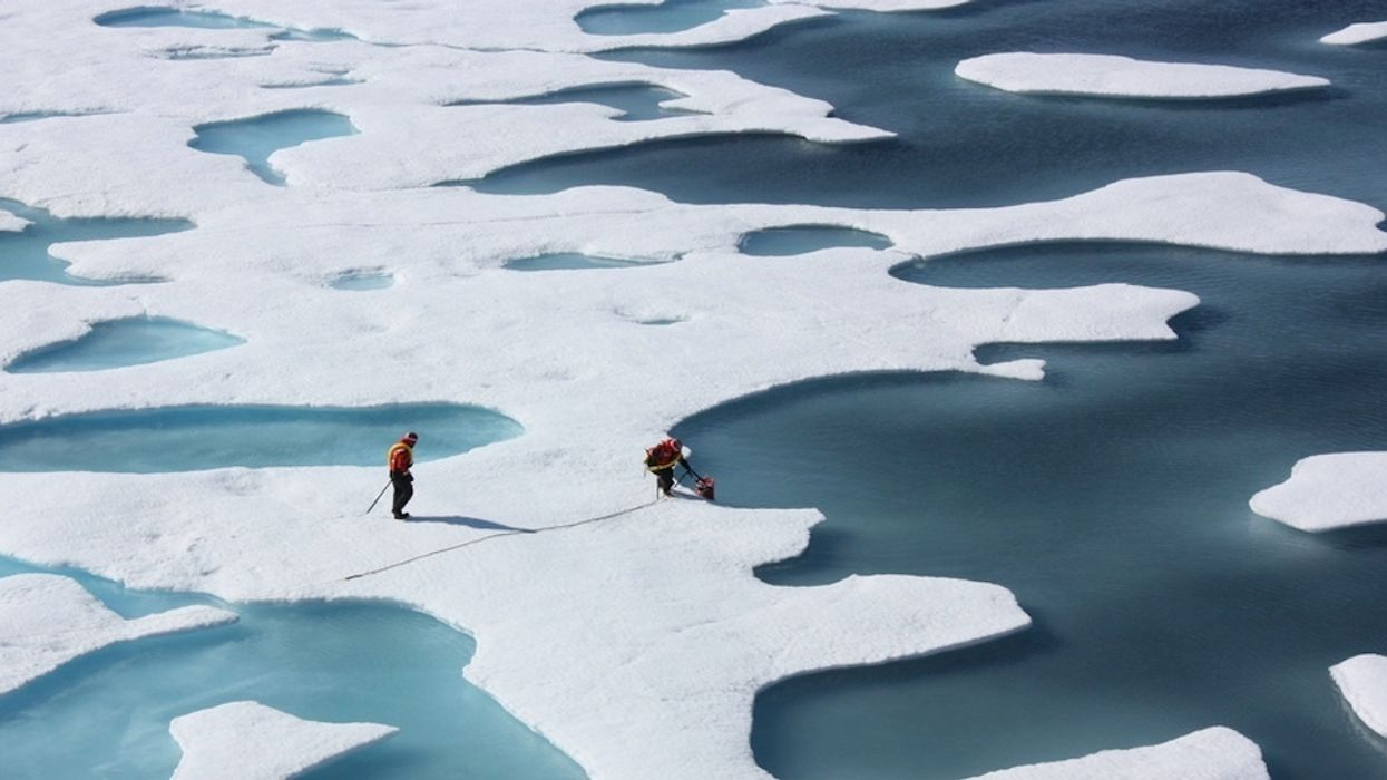 Warm Waters Under Arctic Ice a 'Ticking Time Bomb'