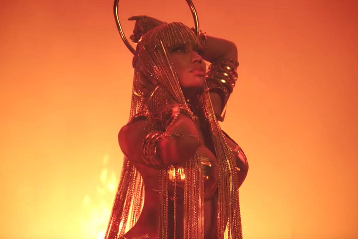 Meet The Designer Behind Nicki Minaj's Gold-Plated 'Ganja Burn' Bikini