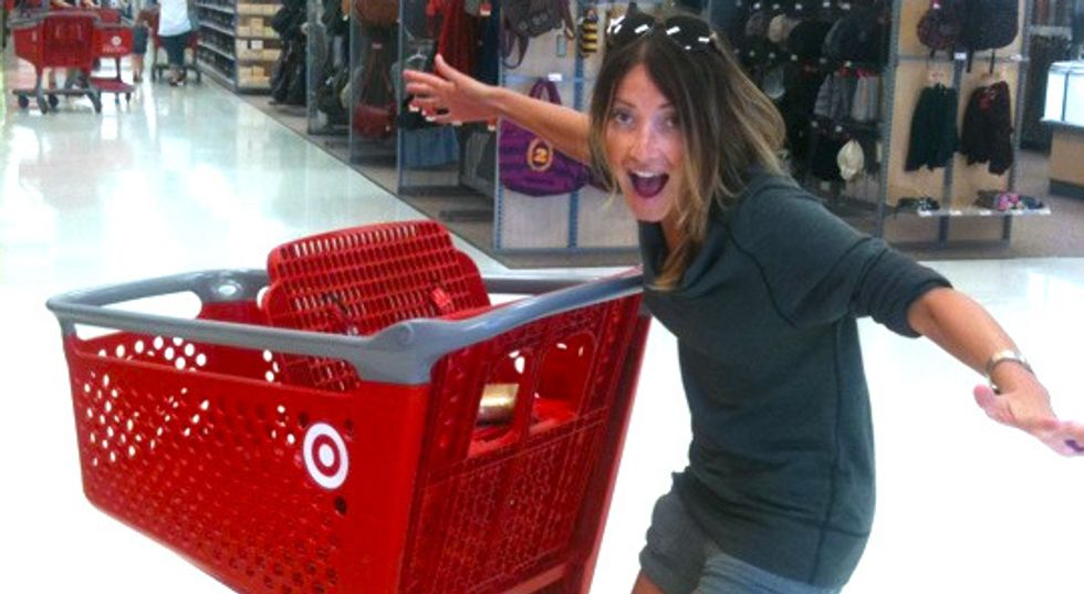 The 10 Stages Of Shopping At Target Every College Girl Will Experience This Fall