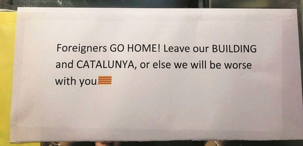 Per i catalani il vero problema sono turisti e lavoratori europei