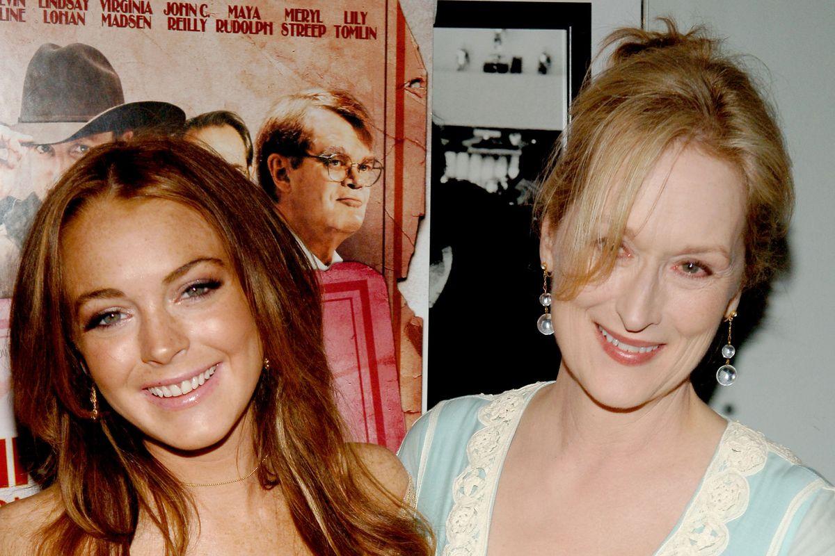 Lindsay Lohan Wants to Remake 'The Little Mermaid' With Meryl Streep