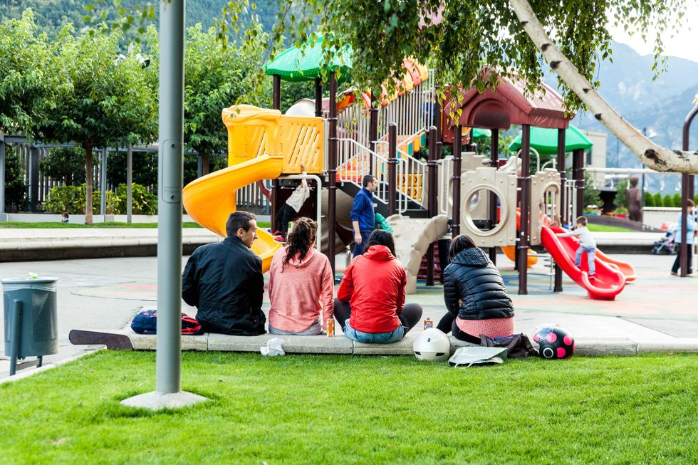 How Children Interact In A Playground