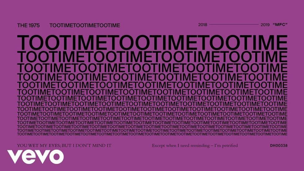 Review: TOOTIMETOOTIMETOOTIME-The 1975