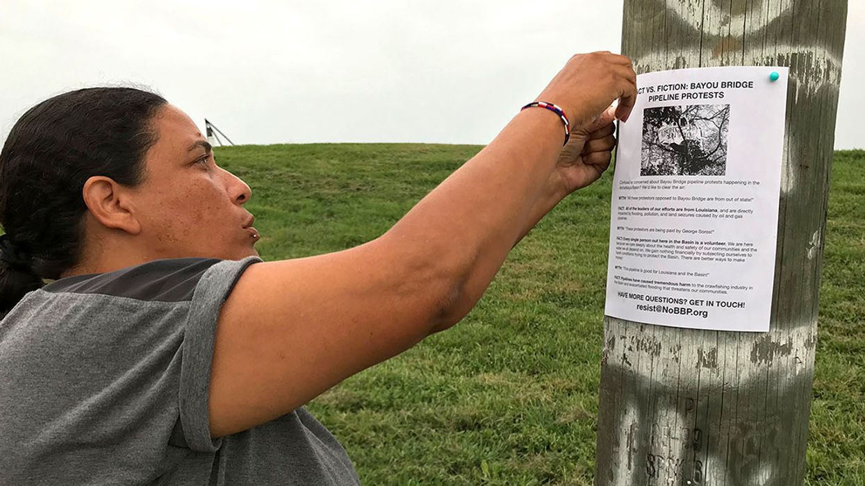 Water Protectors Take Action to Keep Pipeline Out of Black and Indigenous Communities