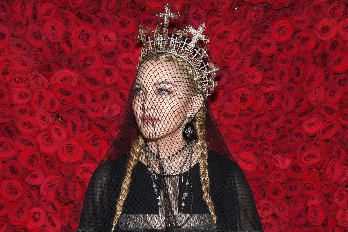 Watch Madonna's Never-Before-Seen 2018 Met Gala Performance