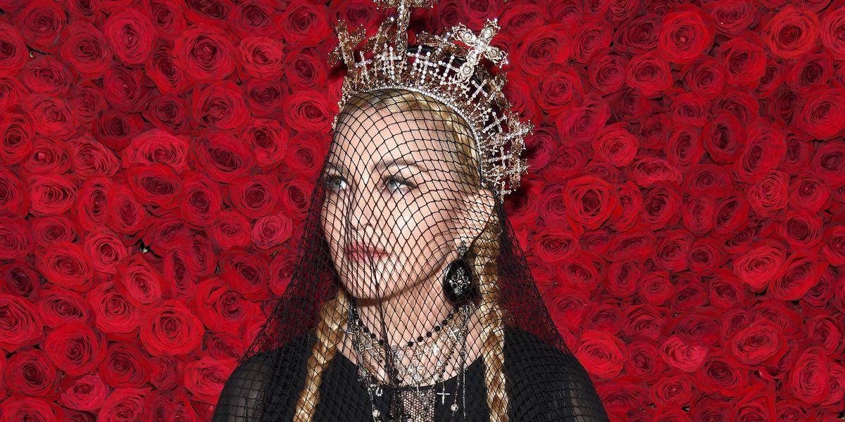Watch Madonna's Never-Before-Seen 2018 Met Gala Performance
