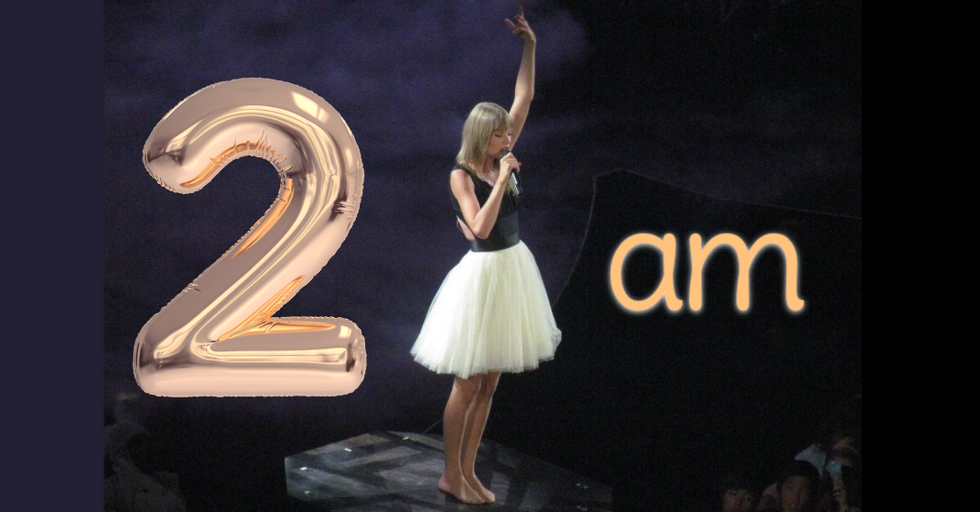 7 Taylor Swift Lyrics That Let You Know 2 AM Is Her Favorite Time