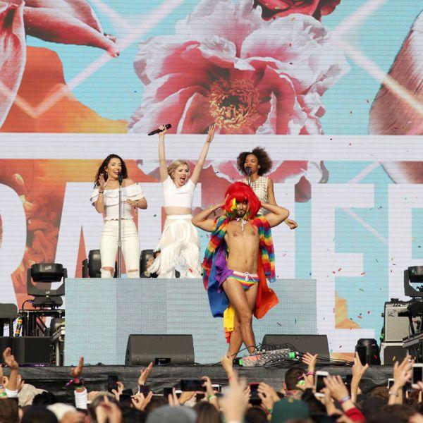 Pride Icon Mark Kanemura Performs with Carly Rae Jepsen