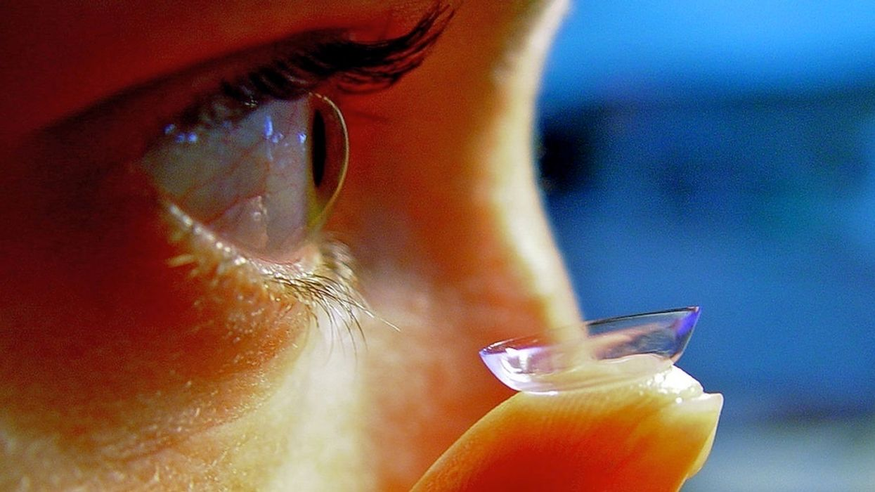 Contact Lenses Add to Earth's Microplastic Crisis