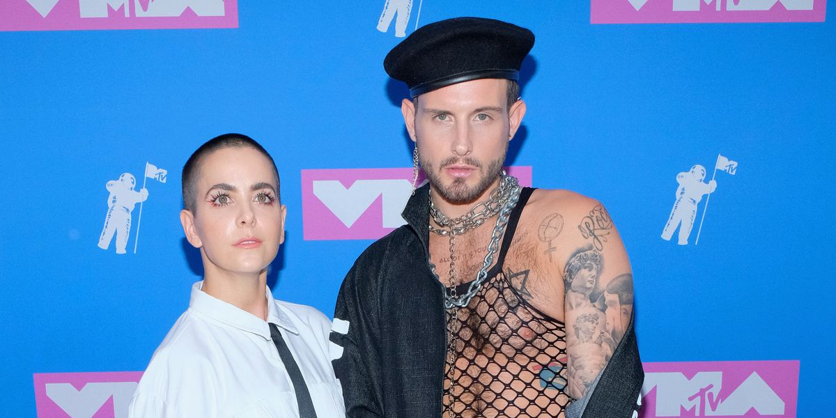 The Gender-Fluid Brand Behind Nico Tortorella's Political Coat