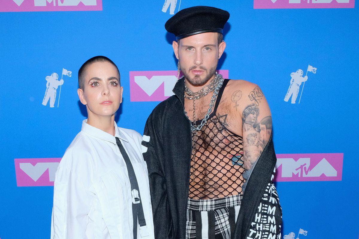 The Gender-Fluid Brand Behind Nico Tortorella's Political Coat