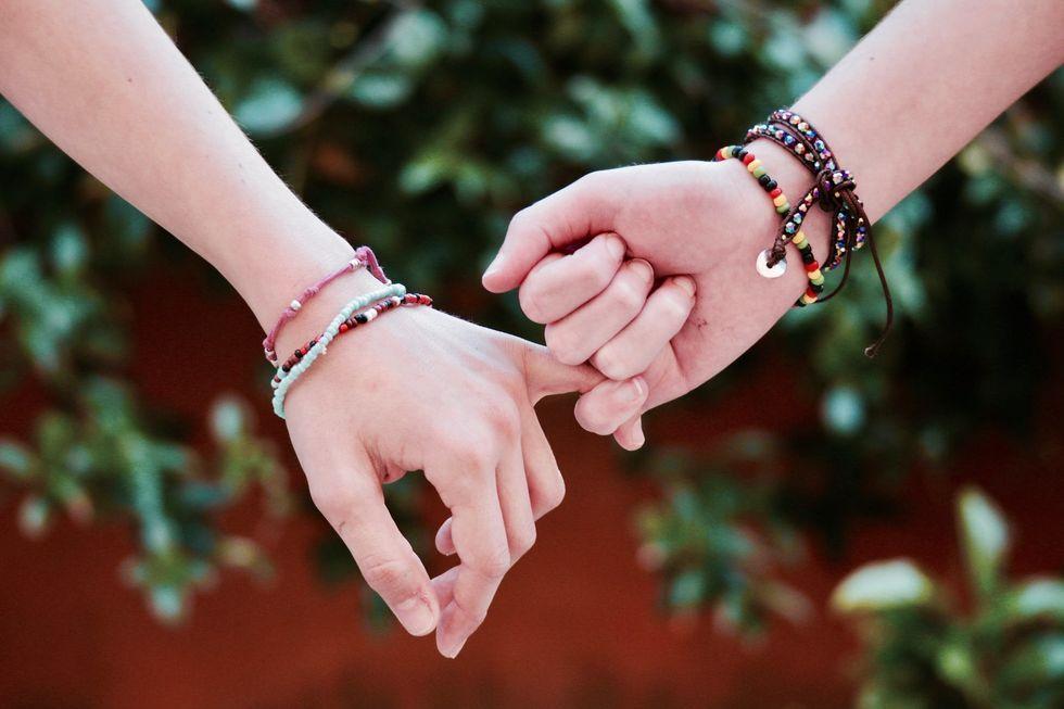 https://www.pexels.com/photo/adult-affection-beads-blur-371285/