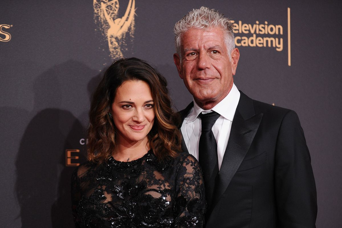 Asia Argento Says Anthony Bourdain Urged Her to Pay Off Her Accuser