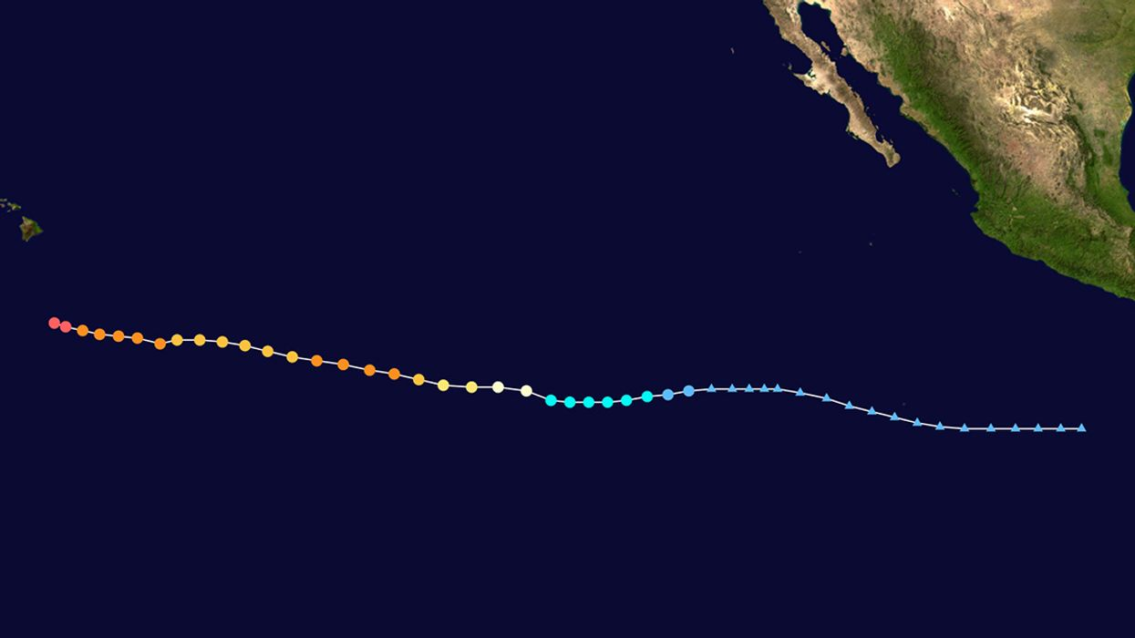 Hurricane Lane Could Be First to Directly Hit Hawaii's Big Island in Recorded History