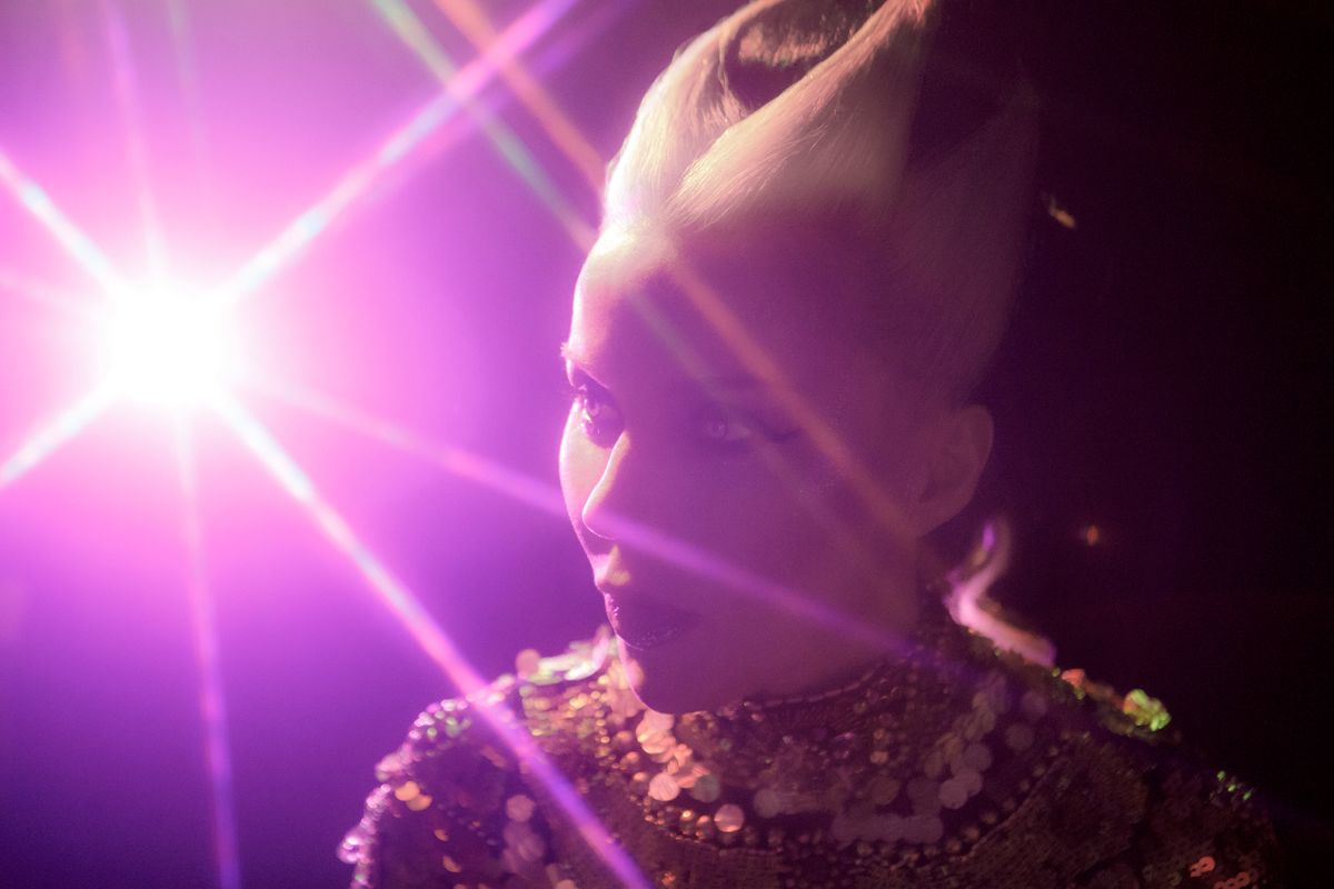 Daphne Guinness Strikes a Golden Chord