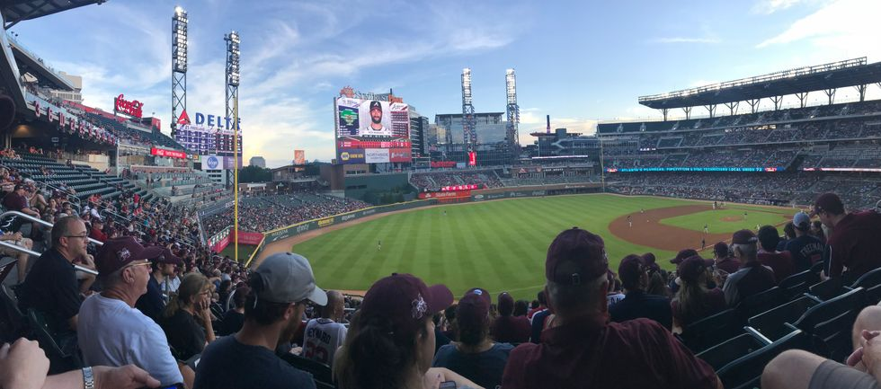 I Ended My Summer With 'Mississippi State Night' At Suntrust Park