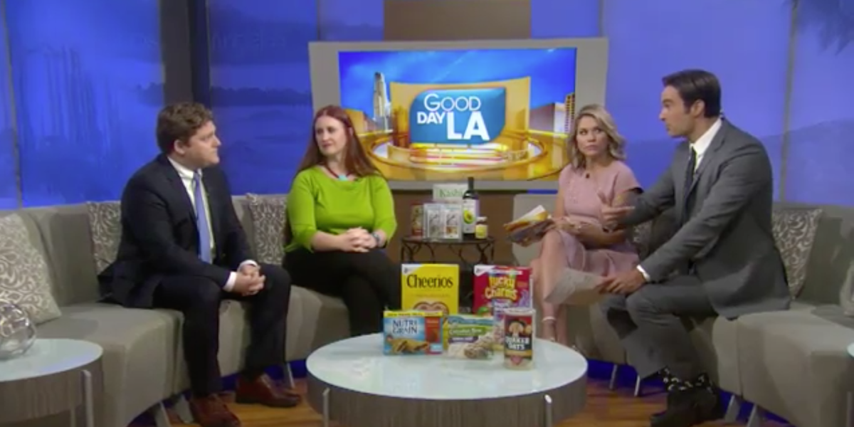 Glyphosate breakfast cereal controversy: Is it safe to feed my children cereal for breakfast?